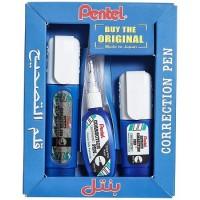 Pentel SP-004 Correction Pen Set ZL31+ZL33+ZL102