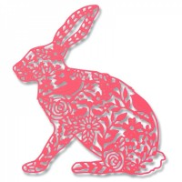 Thinlits Die Wild Rabbit by Georgia Low