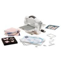 Sizzix Big Shot Foldaway Machine White & Gray with Free Bonus Content