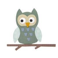 Bigz Die Owl by Sophie Guilar