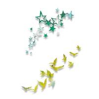 Thinlits Die Set 2PK Birds and Stars by Pete Hughes