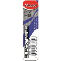 Maped Mech.Pencil Long Life 0.7mm+Lead Blister pack