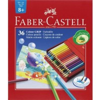 FABER-CASTELL Col.pencil Colour GRIP studio box 36