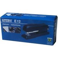 Rapid E12 Economy Stapler 24-26/6 BK 25Sheets Black