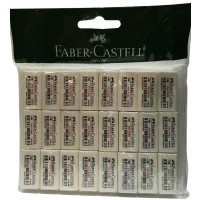 FABER-CASTELL PVC Free Eraser (24pc Pouch)-188691