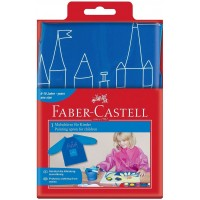 FABER-CASTELL Painting apron 4 young artist Blue