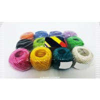 Twine Natural Thread 50m Assorted Colour