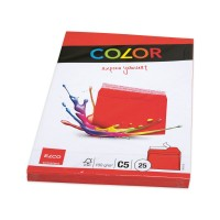 Elco Color C5 Envelope without window, intense red