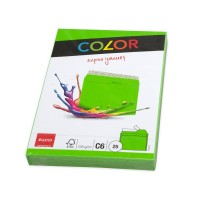 Elco Color C6 Envelope intense green without window, adhesive closure