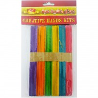 Icecream Stick for Art 1x15cm Assorted Colour