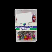 Dress Maker Pins (Round Head 3.8cm)