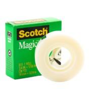Scotch Magic Tape in Box 810-3436. 3/4 x 36 yd (19mm x 33m). 1 roll/box