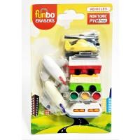 Funbo 3D Eraser in Blister Pack-Vehicle
