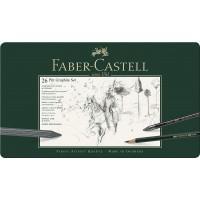 FABER-CASTELL 26 Pitt Graphite Set