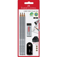 FABER-CASTELL Pencil set grip 2001 EXAM blister
