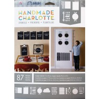Folkart HANDMADE CHARLOTTE STENCIL MESSAGE CENTER