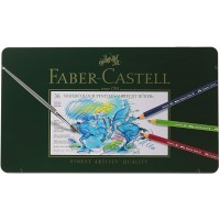FABER-CASTELL Albrecht Durer Artists Water Color Pencils Tin of 36 colors