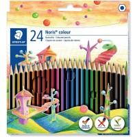 Staedtler 185-C Noris Colour pencils Set of 24 Colors