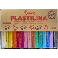 JOVI Plastilina Modelling Clay 15Color 350g each