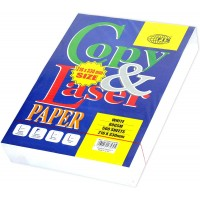 FIS Copy and Laser Photocopy Paper, 216 x 330MM, 500 Sheets, White