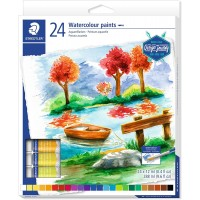 Staedtler 8880 Water Color Paints tubes Set of 24 Colors