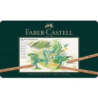 FABER-CASTELL PITT Pastel Pencils Tin of 36 colors