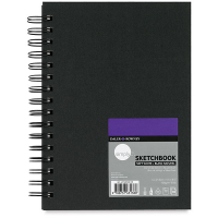 "Daler Rowney Simply Soft White Wirebound Sketchbook (80sht 100gsm) 8.5*11"" (Nominal A4)"