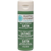 MARTHA STEWART MULTI SURFACE PAINT SATIN 2 OZ. PESTO