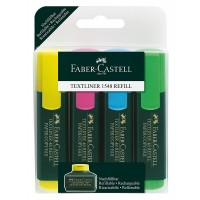 HIGHLIGHTER Fabercastell MULTICOLOUR Pack of 4