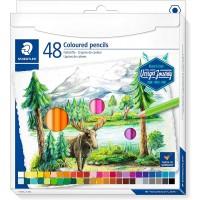Staedtler 146C Coloured pencils permanent  Set of 48 Color