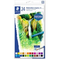 Staedtler 223-C24 Watercolour crayons Set of 24 Colors