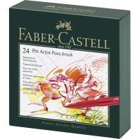 FABER-CASTELL PITT ARTIST Pen Broad Box of 24pc