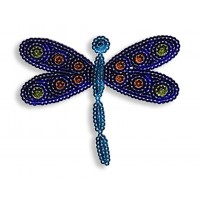 SPARKLY SEQUIN IOA-DRAGON FLY