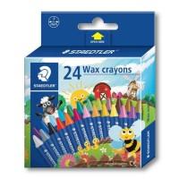Staedtler 2200-NC Wax Crayon Set of 24 Colors