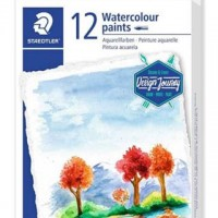 Staedtler 8880 Water Color Paints tubes Set of 12 Colors