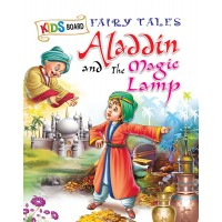 SAWAN-KIDS BOARD FAIRY TALES - ALADDIN & MAGIC LAMP