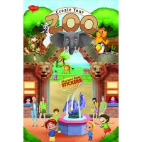 SAWAN-CREATE YOUR ZOO STICKER ACTIVITY