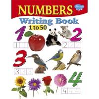 SAWAN-NUMBERS WRITING BOOK 1- 50