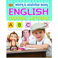 SAWAN-WORK & ACTIVITY BOOK ENGLISH - CAPITAL LETTERS