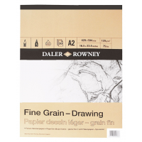 Daler Rowney Sketching Fine Grain Drawing Pad (30sht/120gsm) A2