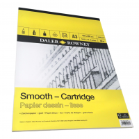 Daler Rowney Sketching Smooth Cartridge Pad (30sht/130gsm, acid free) A3