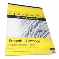 Daler Rowney Sketching Smooth Cartridge Pad (30sht/130gsm, acid free) A3