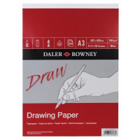 Daler Rowney Sketching Medium Grain Drawing Pad (50sht/160gsm) A3