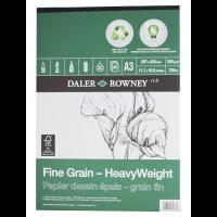 Daler Rowney Eco Paper Heavyweight Pad Fine Grain 30sht/200g/m2 size A3