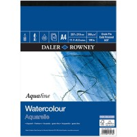 Daler Rowney Aquafine Watercolour paper (Not Surface) A4