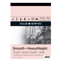 Daler Rowney Sketching Smooth Heavyweight Cartridge Pad (25sht/220gsm) A4