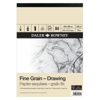 Daler Rowney Sketching Fine Grain Drawing Pad (30sht/120gsm) A4