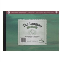 Daler Rowney Langton Watercolour Pads NOT Surface (Cold Pressed) 12sheets/300gsm A5