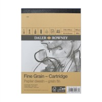 Daler Rowney Sketching Fine Grain Cartridge Pad (30sht/160gsm) A5