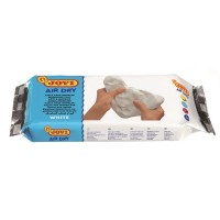 Air Hardening Clay 500g White